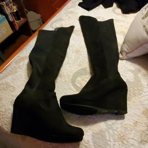 New wedge boots